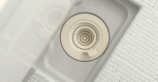 お風呂の排水溝を掃除