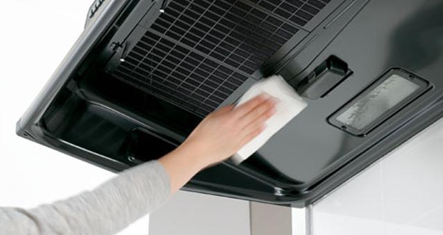 キッチンの換気扇を掃除