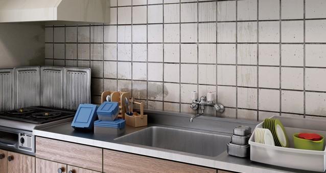キッチンタイルのお掃除方法