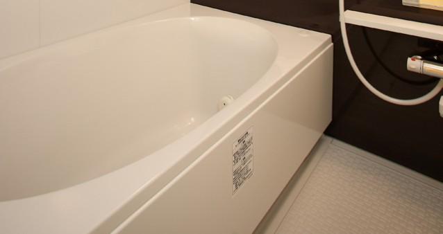 浴槽のエプロンを掃除