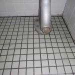 トイレの尿石落とし排水管洗浄です。(川崎市)