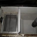 排水トラップの洗浄です。(戸塚区)