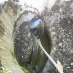 排水管高圧洗浄です。(横浜市)
