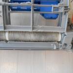 お掃除機能付きエアコンの汚れです。(横浜市)