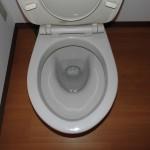 賃貸物件のトイレ便器清掃です。(戸塚区)
