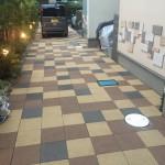 共用部分床高圧洗浄です。(藤沢市)