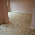 床木部磨き工事です。(東京都)