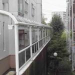 共用部分屋根清掃(横浜市戸塚区)