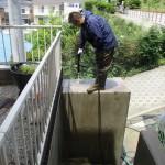 外壁洗浄作業(横浜市泉区)