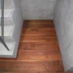 床・フローリングのシミ取り工事です。(東京都)