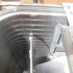 お掃除機能付きエアコン清掃・室外機も清掃(横浜市)