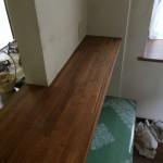 キッチンカウンター磨き工事です。(東京都)