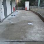 共用部分清掃工事(横浜市)