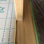 マンション木部アク洗いです。(東京都)