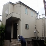 外壁洗浄工事です。(横浜市)