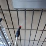マンションタイル外壁洗浄及び保護処理です。(横浜市)